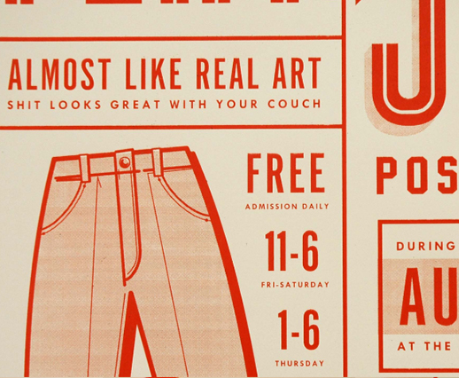 Flatstock Poster