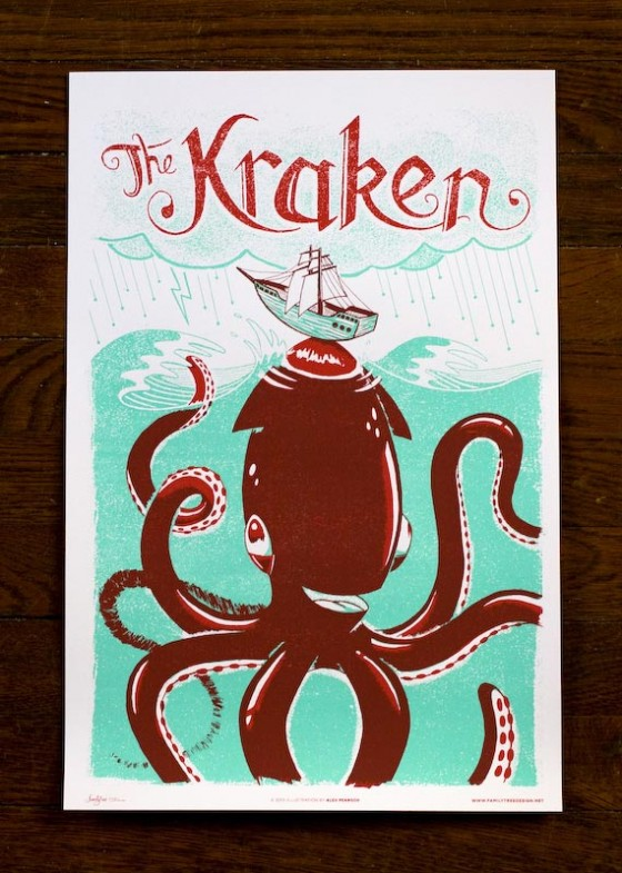 The Kraken by Family Tree