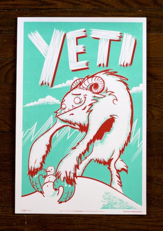 The Yeti by Family Tree
